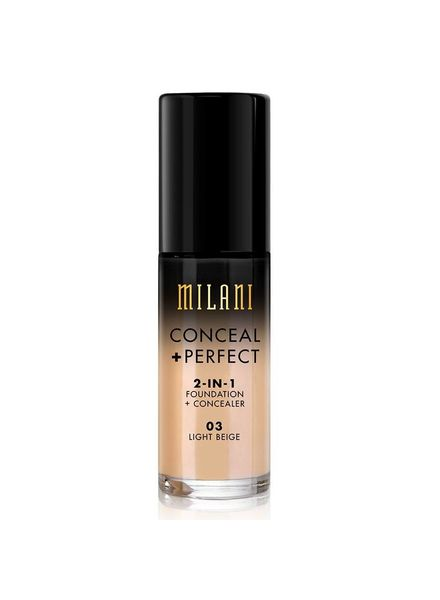 Milani Milani Conceal & Perfect 2-in-1 Foundation and Concealer Light Beige