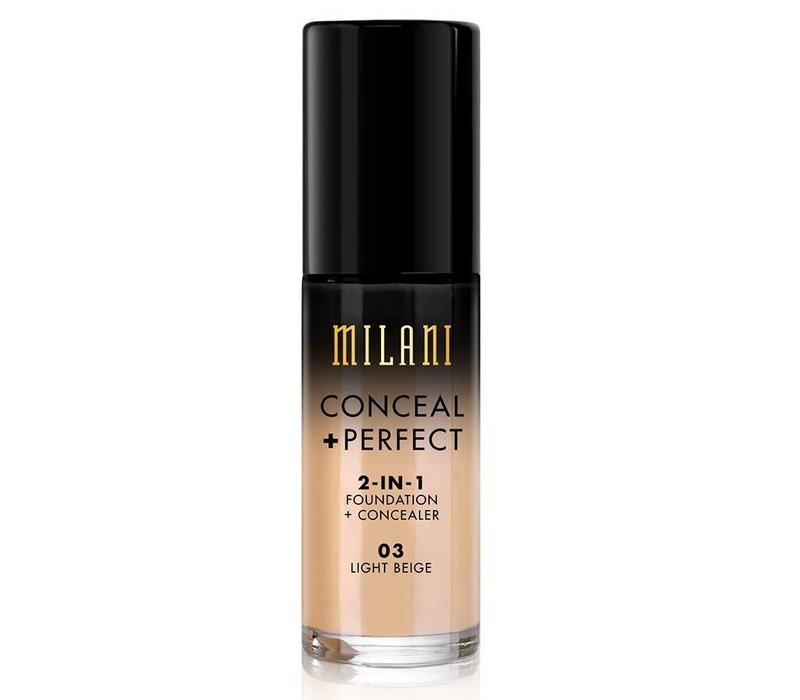 Milani Conceal & Perfect 2-in-1 Foundation and Concealer Light Beige