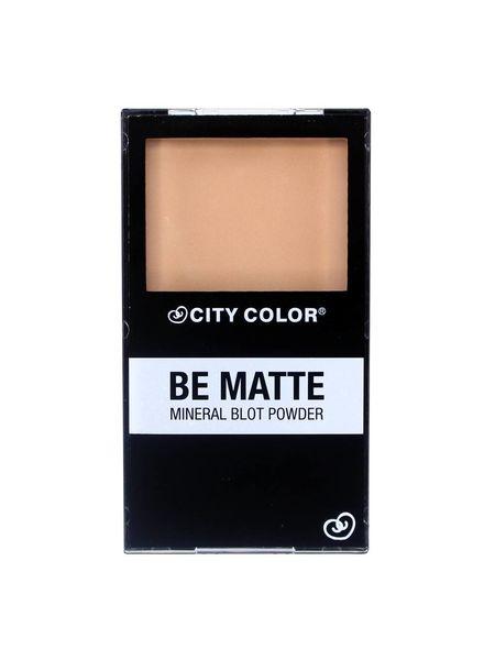 City Color Be Matte Mineral Blot Powder