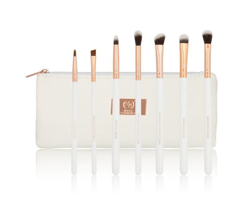 Boozy Cosmetics Rose Gold BoozyBrush 7 pc Starter Eye Set