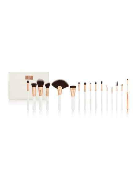 Boozy Cosmetics Boozy Cosmetics Rose Gold BoozyBrush 16 pc Advanced Set