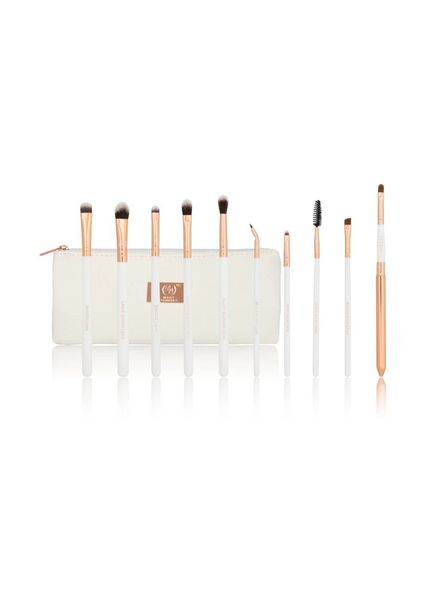 Boozy Cosmetics Boozy Cosmetics Rose Gold BoozyBrush 10 pc Advanced Eye & Lip Set
