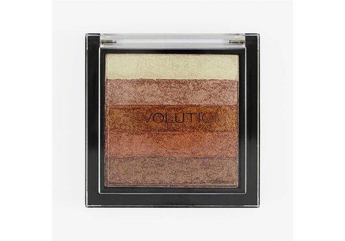 Makeup Revolution Vivid Shimmer Brick Rose Gold