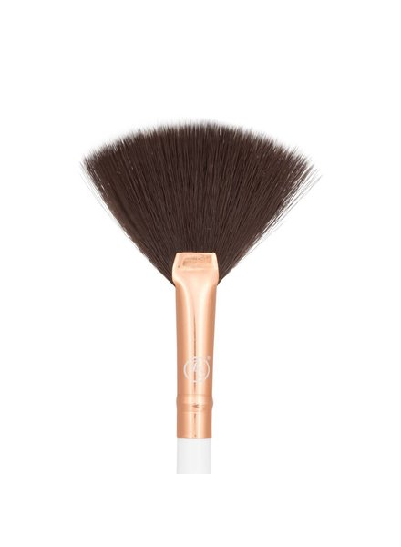Boozy Cosmetics Rose Gold BoozyBrush 3400 Precision Fan Brush