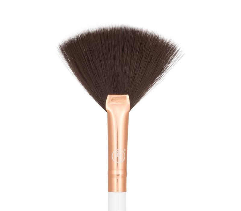 Boozy Cosmetics Rose Gold BoozyBrush 3400 Precision Fan Brush