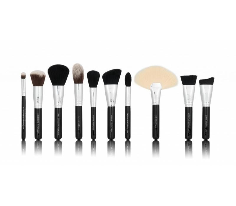 Boozy Cosmetics BoozyBrush 10 pc Deluxe Face Set
