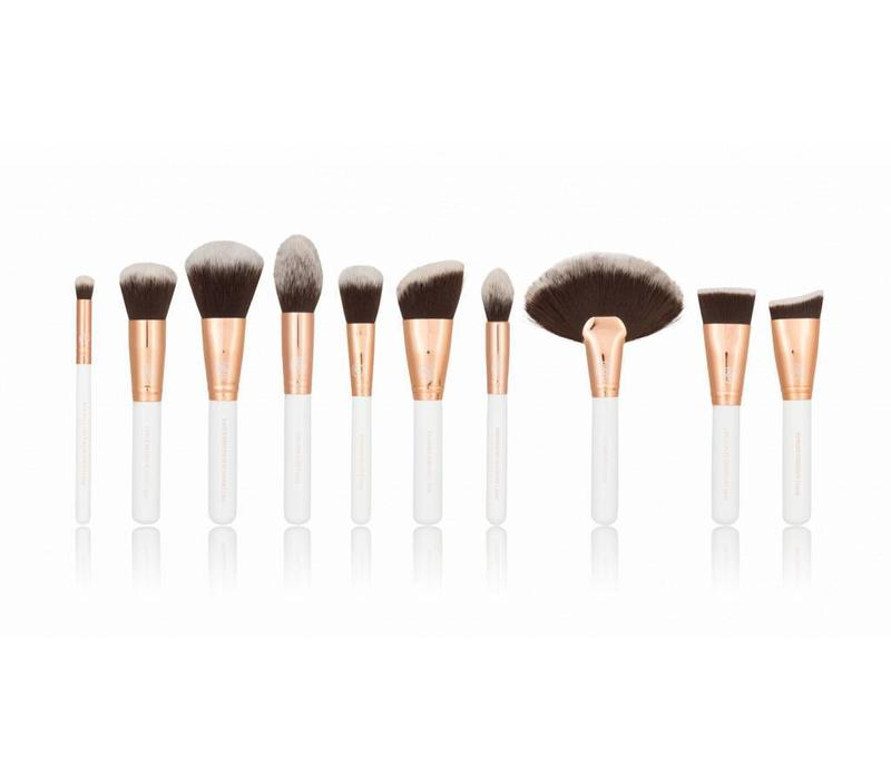 Boozy Cosmetics Rose Gold BoozyBrush 10 pc Deluxe Face Set