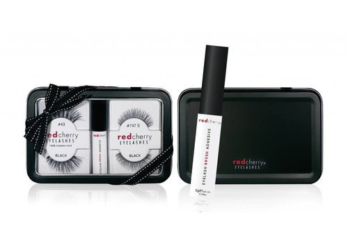 Red Cherry Eyelash Gift Set