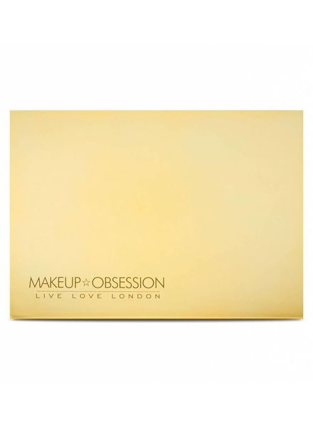 Makeup Obsession Makeup Obsession Medium Empty Palette Gold