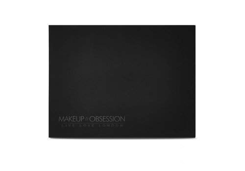 Makeup Obsession Large Empty Palette Matte Black