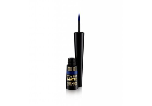 Milani Stay Put Matte Liquid Eyeliner Midnight