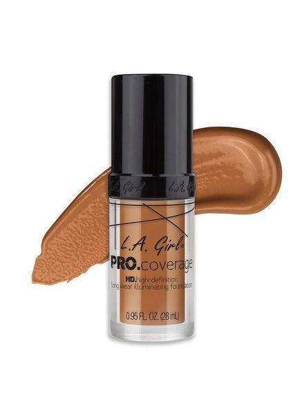LA Girl Cosmetics LA Girl Pro Coverage HD Liquid Foundation Warm Caramel