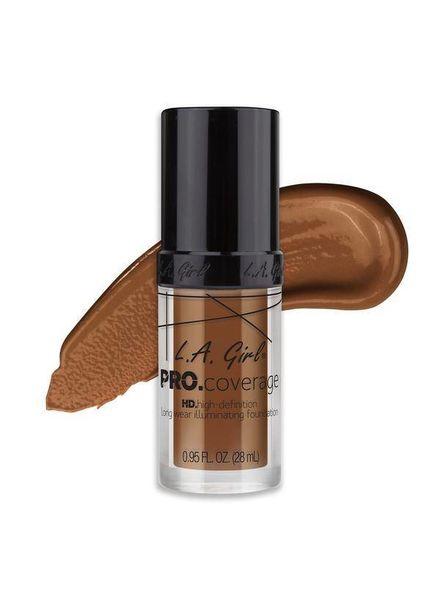LA Girl Cosmetics LA Girl Pro Coverage HD Liquid Foundation Coffee