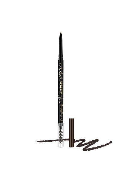 LA Girl Cosmetics LA Girl Shady Slim Brow Pencil Blackest Brown