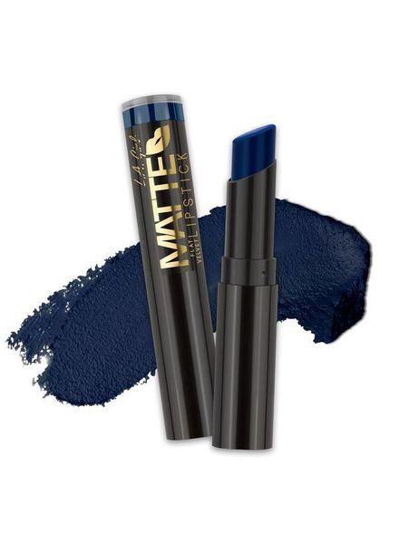 LA Girl LA Girl Matte Flat Velvet Lipstick Blue Valentine