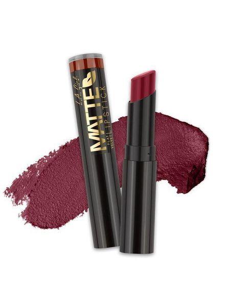 LA Girl LA Girl Matte Flat Velvet Lipstick Runway
