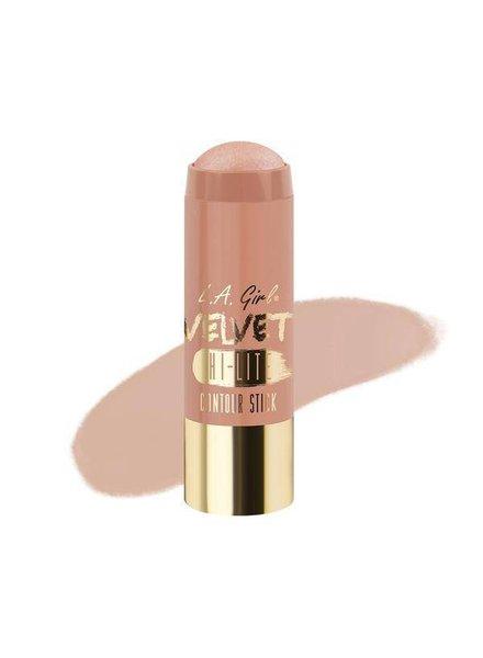 LA Girl Cosmetics LA Girl Velvet Contour Highlighter Stick Luminous