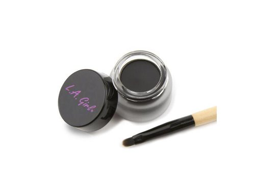LA Girl Gel Liner Kit Jet Black