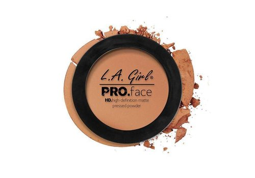 LA Girl Pressed Powder Warm Caramel