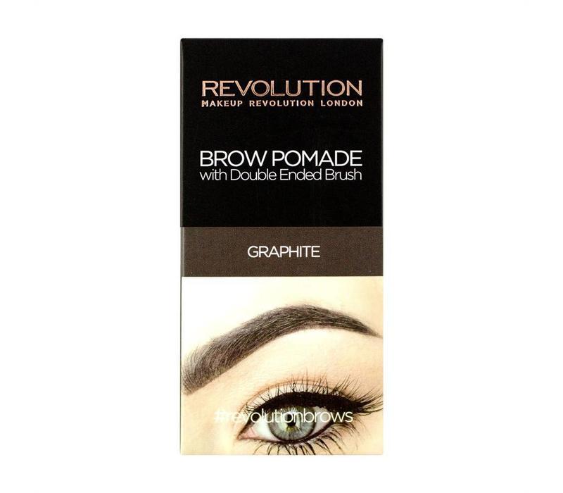 Makeup Revolution Brow Pomade Graphite