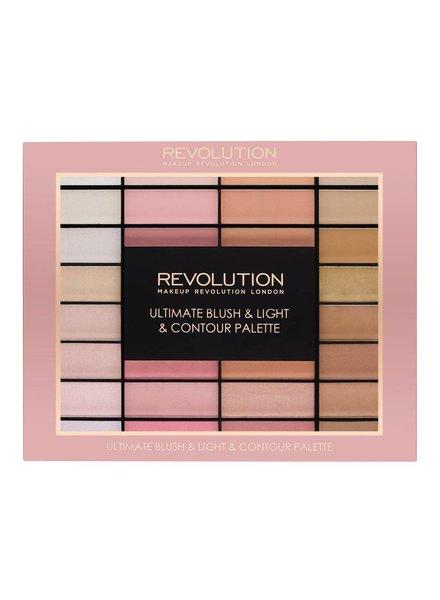 Makeup Revolution Ultimate Blush, Light and Contour Palette