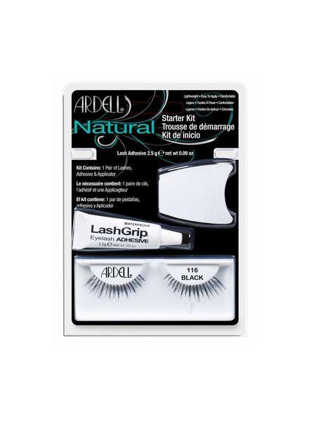 Ardell Lashes Ardell Natural Lash Starter Kit 116 black