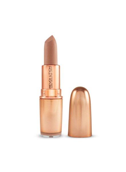 Makeup Revolution Iconic Matte Nude Revolution Lipstick Expose