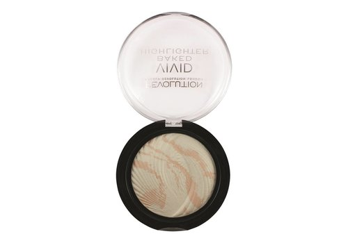 Makeup Revolution Baked Highlighter Matte Lights