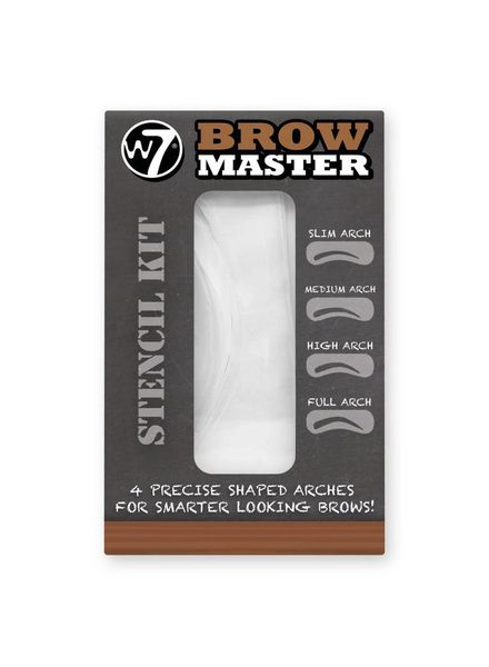 W7 Brow Master Stencil Kit