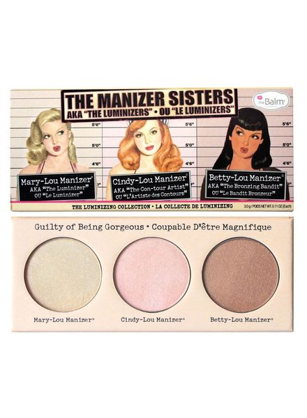 TheBalm The Balm Manizer Sisters