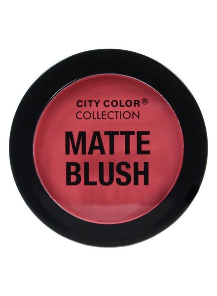 City Color City Color Matte Blush Deep Coral
