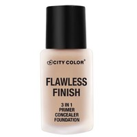 City Color Flawless Finish 3-in-1 Foundation Light