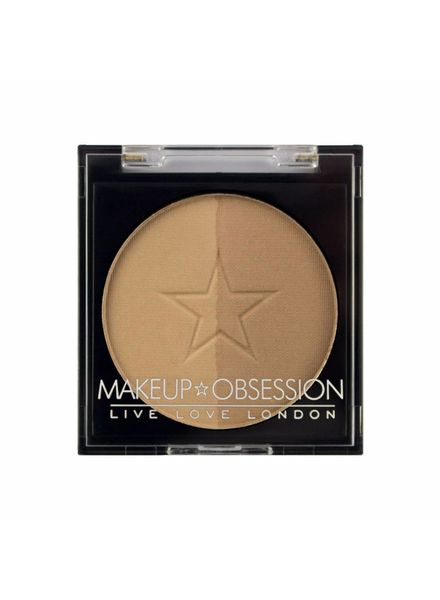Makeup Obsession Makeup Obsession Brow Duo Powder Refill BR102 Taupe