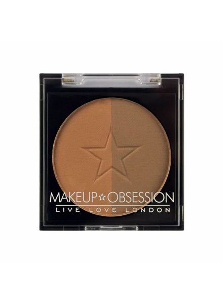 Makeup Obsession Makeup Obsession Brow Duo Powder Refill BR106 Caramel Brown
