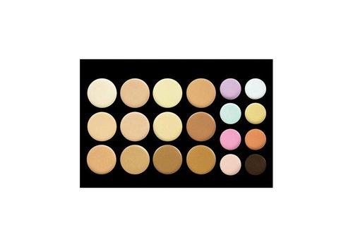 Crown Brush 20 Colour Concealer / Contour Palette