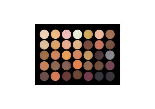 Crown Brush 35 Colour Nude Palette