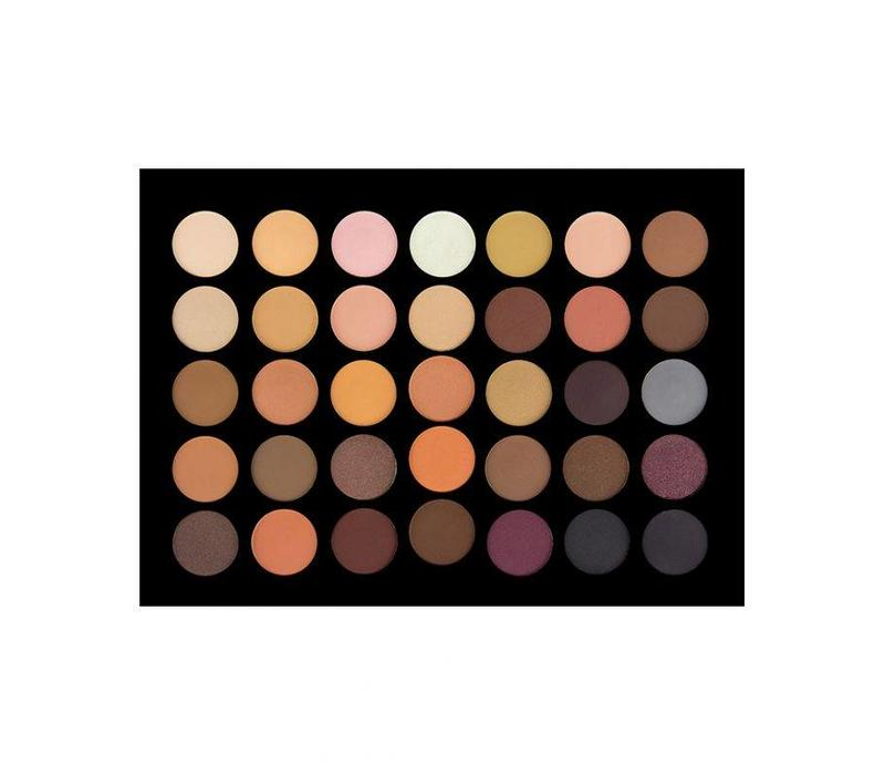 Crown Brush 35 Colour Nude Eyeshadow Palette