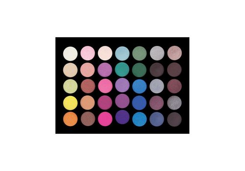 Crown Brush 35 Colour Smoke it Out too Palette