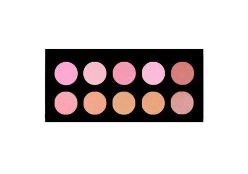Crown Brush 10 Colour Blush Palette