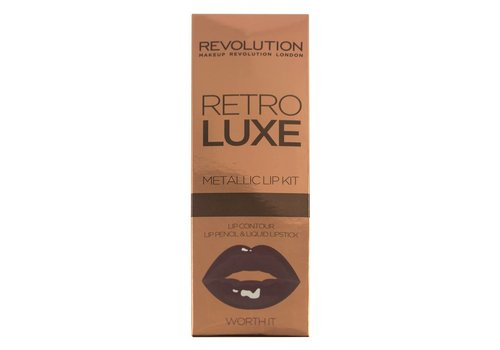 Makeup Revolution Retro Luxe Kits Metallic Worth It