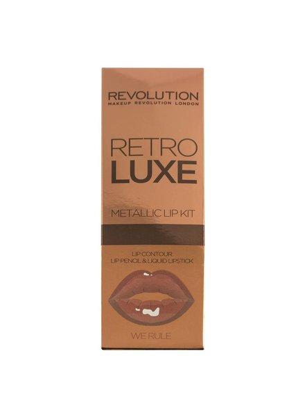 Makeup Revolution Makeup Revolution Retro Luxe Kits Metallic We Rule