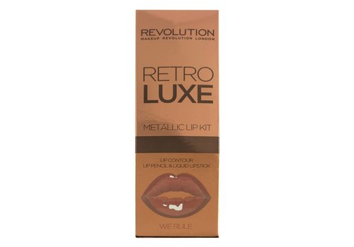 Makeup Revolution Retro Luxe Kits Metallic We Rule