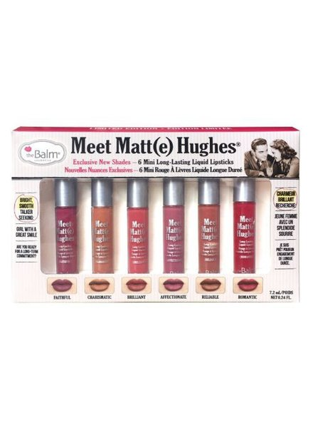 TheBalm The Balm Meet Matte Hughes Mini Liquid Lipstick Set