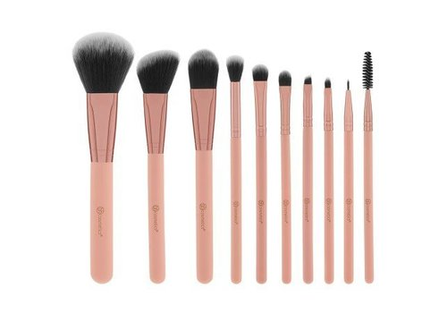 BH Cosmetics Pretty in Pink Brush Set with Bag