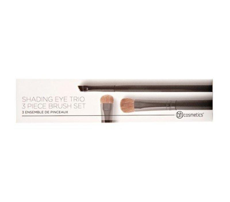 BH Cosmetics Shading Eye Trio 3 Piece Brush Set