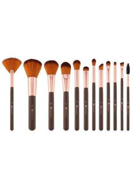 BH Cosmetics BH Cosmetics Shimmering Bronze 12 Piece Brush Set