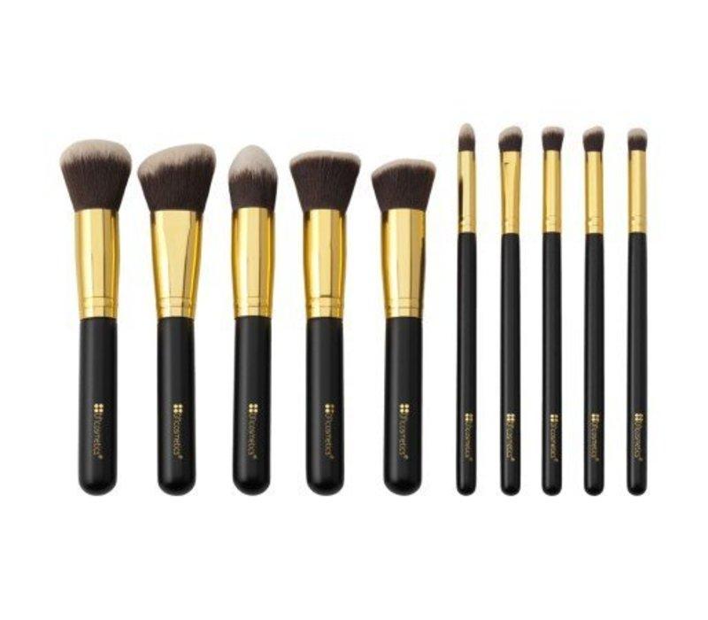 BH Cosmetics Sculpt and Blend 10 Piece Brush Set