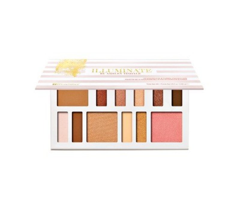 BH Cosmetics Illuminate By Ashley Tisdale: Beach Goddess 12 Color Eye & Cheek Collection