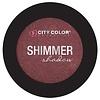 City Color City Color Shimmer Shadow Marsala