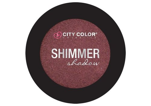 City Color Shimmer Shadow Marsala